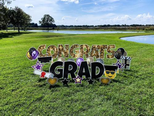 Congrats Grad Yard Cards