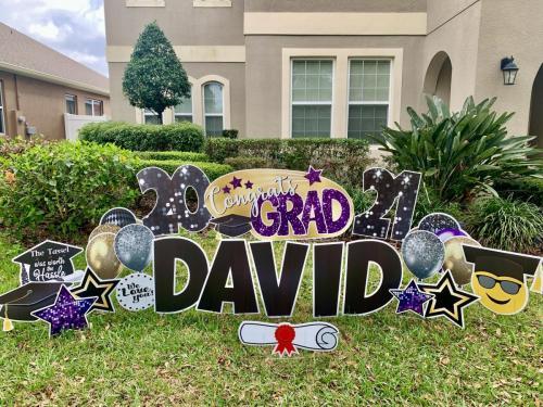 Celebration High School Graduation Yard Cards