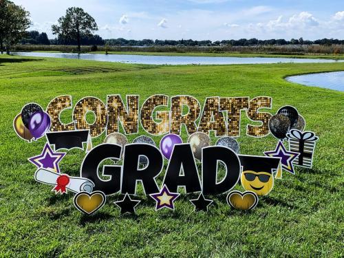 Congrats Grad Yard Card Windermere, FL