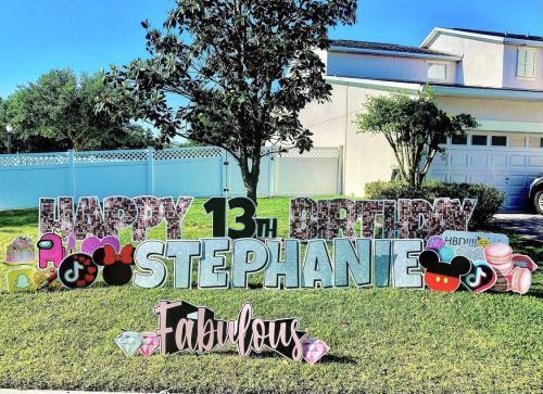 Teen Birthday Yard Sign Ocoee Florida